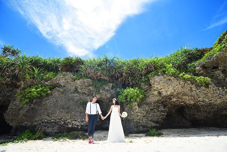 【ドレス】ビーチ&古民家本島北部プランイメージ1