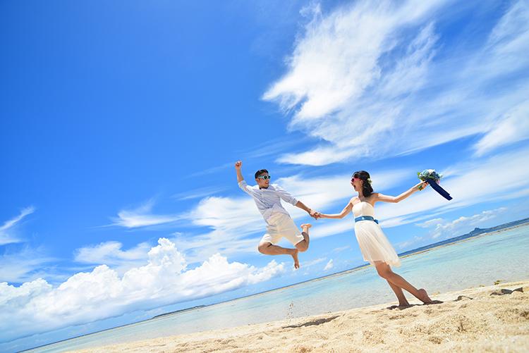 【ドレス】ビーチ&古民家本島北部プランイメージ2