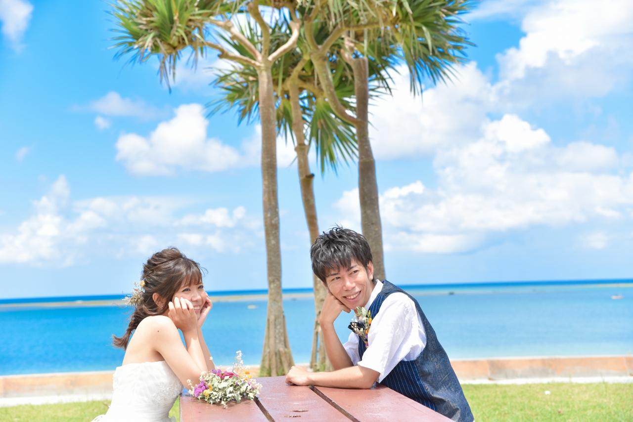 【ドレス】ビーチ&古民家本島中部プランイメージ1