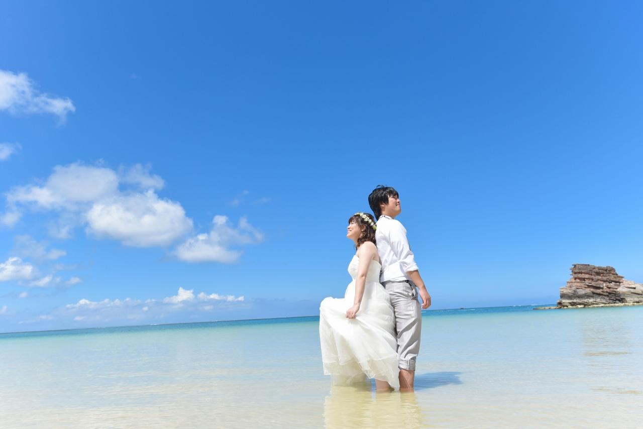 【ドレス】ビーチ&古民家本島中部プランイメージ2