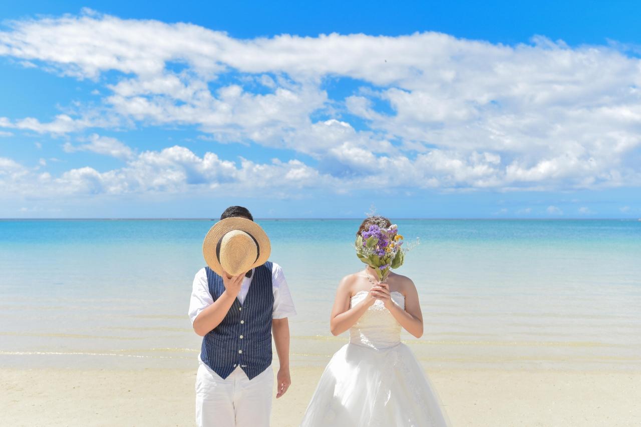 【ドレス】ビーチ&チャペルプランイメージ1
