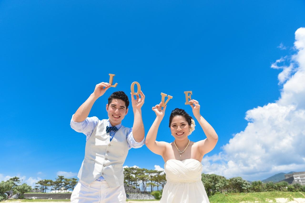 【ドレス】ビーチ&古民家本島北部プランイメージ